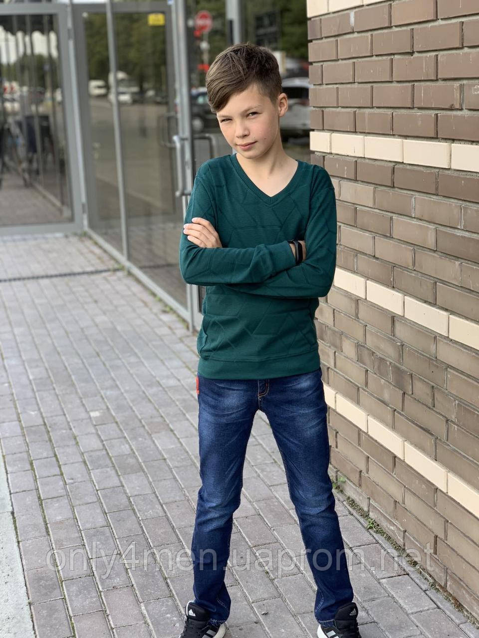 Кофта-пуловер для мальчика 110-128 см