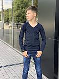 Кофта-пуловер для мальчика 110-128 см, фото 3
