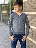 Кофта-пуловер для мальчика 110-128 см, фото 4