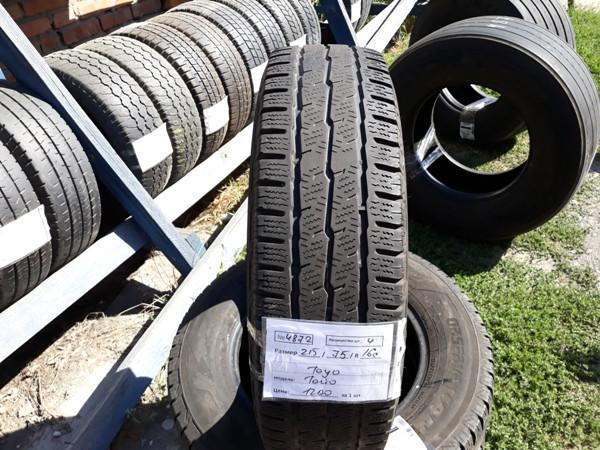 Бусовские шины б.у. / резина бу 215.75.r16с Toyo Observe Van Тойо  - купить со скидкой