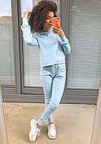 Женский спортивный костюм двойка штаны и кофта MOSQUITO, фото 3