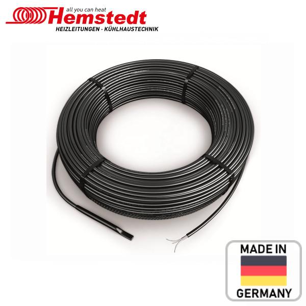 Нагрівальний двожильний кабель Hemstedt BRF-IM 27 Вт/м для обігріву водостоків, відкритих площ і балконів