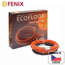 Тонкий нагревательный кабель теплый пол двужильный Fenix ADSV 10 Вт/м  под плитку в плиточный клей Чехия