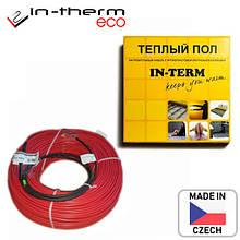 Нагревательный кабель теплый пол двужильный двужильный IN-THERM ECO PDSV 20 Вт/м для укладки в стяжку Чехия