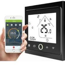 Терморегулятор In-Therm PWT-002 Wi-Fi  16 А сенсорный программируемый для теплого пола черный