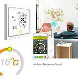 Терморегулятор In-Therm PWT-002 Wi-Fi  16 А сенсорный программируемый для теплого пола черный, фото 5