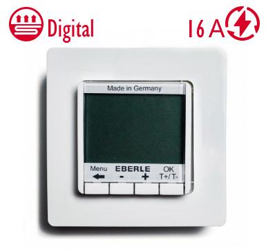 Цифровий Терморегулятор Eberle FITnp 3U для теплої підлоги Німеччина