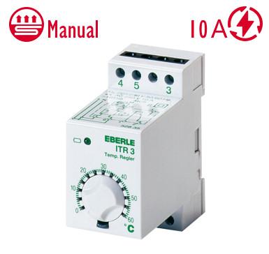 Механічний Терморегулятор (аналоговий) Eberle ITR-4 для теплої підлоги та обігріву труб Німеччина