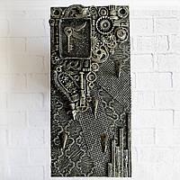 Ключница настенная в стиле лофт Подарок мужчине Ручная работа