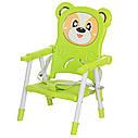 Детский складной стульчик для кормления Bambi 113-5 Зеленый, фото 3