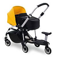 Подножка для второго ребенка (на круглую планку) Підніжка + сидіння для дитини Buggy Platform and Seat