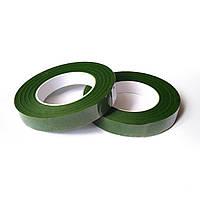 Тейп-стрічка флористична зелена (12 мм)