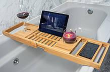 Бамбуковий столик для ванни Utoplike