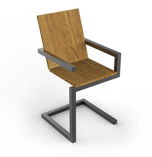Барний дизайнерський стілець від DomRom