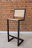 Высокий деревянный барный стул от производителя
