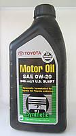 Моторное масло Toyota Motor Oil 0W-20 0,946л