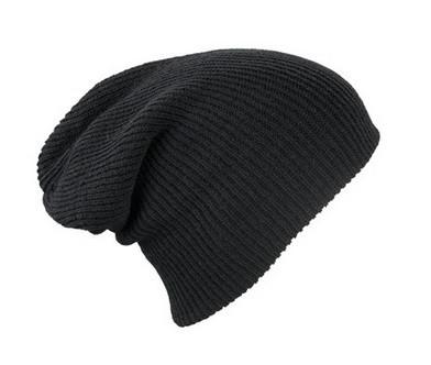 Трикотажные шапочки длинный крой 7955-9