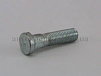 Шпилька (пресс-болт) М12х1.5х35/52 цинк, шлиц 12.4