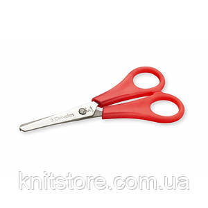 Ножницы 3Claveles школьные 12.5 см Красный