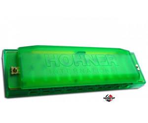 HOHNER HAPPY Green C Губная гармошка диатоническая C-major
