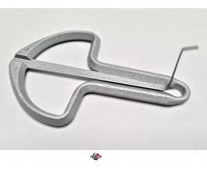 KARL SCHWARZ 844910 №8 Варган (варган) 65мм, серебряный