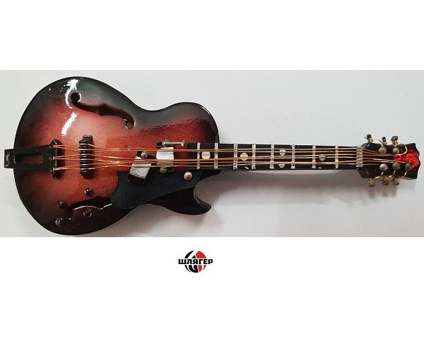 ALBERTS GIFTS 39230 Gib Electric Guitar Сувенир значок с магнитом
