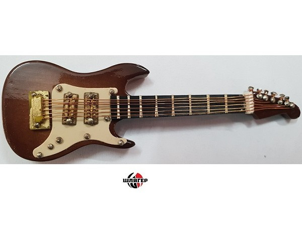 ALBERTS GIFTS 39223 Electric Guitar Brown 4