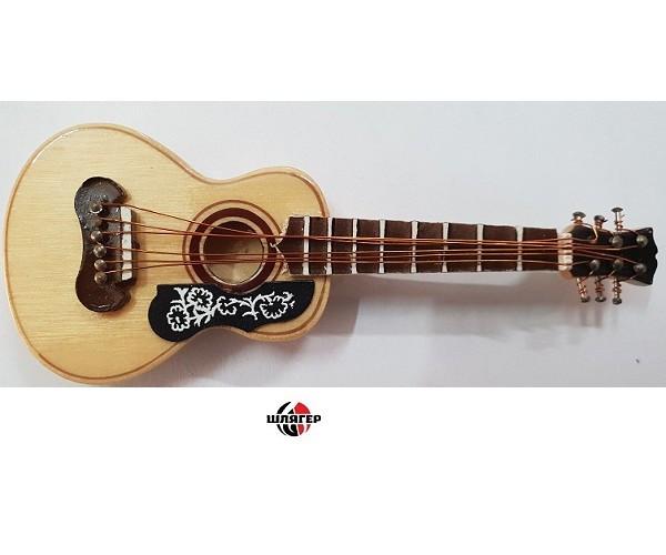 ALBERTS GIFTS 39225 Acoustic Guitar W / Pick Guard Сувенир значок с магнитом