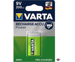VARTA 9V Аккумулятор 9V 200mAh