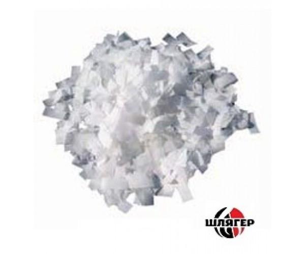 BIG 4108 confetti tissue paper Конфетти бумажные эффект белого снега 1cm * 2,5cm, 1 кг