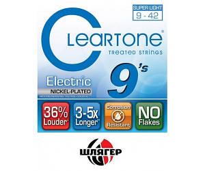 CLEARTONE 9409 Струны для электрогитары .009-.042
