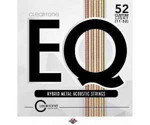 CLEARTONE 7811 Струны для акустической гитары .011-.052