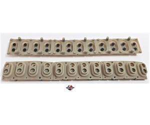 KORG Резиновые контакты для Korg PA80, PA60, одна октава