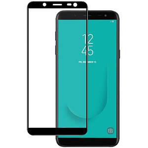 Защитное стекло для Samsung Galaxy A2 Core A260F Black Черное самсунг А2 кор на весь экран полная проклейка