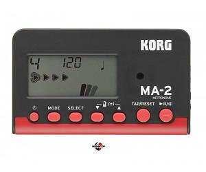 KORG MA2 BKRD Метроном цифровой
