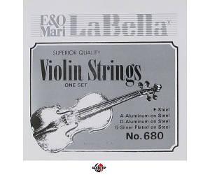 LA BELLA 680 Струни для скрипки 4/4