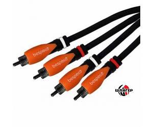 BESPECO SiLOS SL2R300 Готовый мультимедийный кабель 2 * RCA / 2 * RCA 3 м.