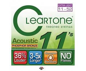 CLEARTONE 7411 Струны для акустической гитары 11-52
