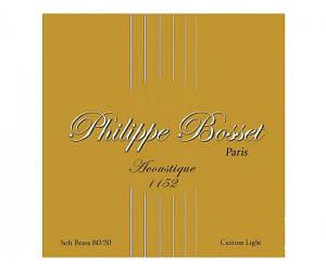 PHILIPPE BOSSET ACO1152 Custom Light Струны для акустической гитары .011-.052