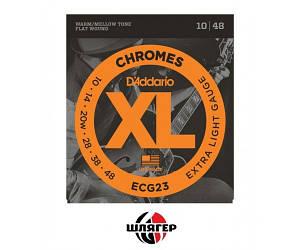 D`ADDARIO ECG23 Chromes steel Струны для электрогитары .010-.048