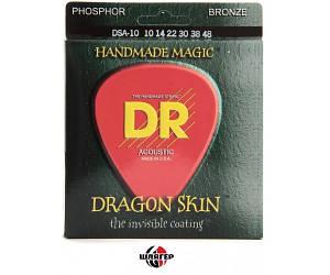 DR DRAGON SKIN DSA010-048 Струны для акустической гитары ф.бронза .010-.048