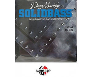 DEAN MARKLEY 2652 * Solid Bass ML Струны для бас-гитары .045-.105