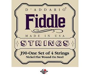 D`ADDARIO FIDDLE J90 4/4M Струни для скрипки 4/4 сер. жорсткості