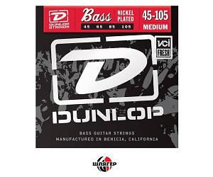DUNLOP DBN45105 Струны для бас-гитары .045-.105