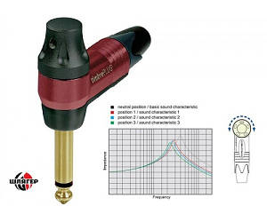 NEUTRIK NP2RX-TIMBRE Разъем 6,3 мм кабельный моно угловой