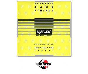 WARWICK 41301 Yellow Label Струны для бас-гитары 5 струн .045-.135