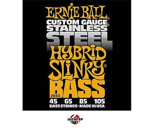 ERNIE BALL P02843 Струны для бас-гитары .045-.105