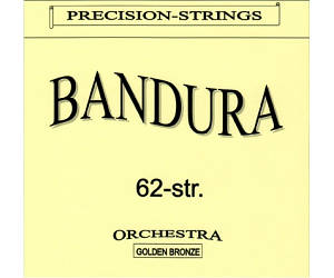SOLID БНД62 Струны для бандуры 62 струны латунь