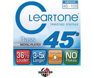CLEARTONE 6445 Струны для бас-гитары .045-.105