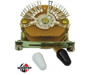 DIMARZIO EP1112 Переключатель для гитары 5-позиционный мультиполюсний типа Strat